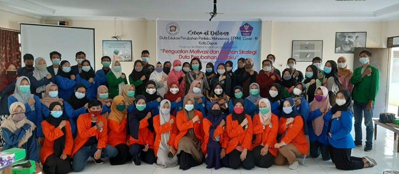 Edukasi Duta Mahasiswa Perubahan Perilaku Mahasiswa Pencegahan Covid-19 Wilayah Depok