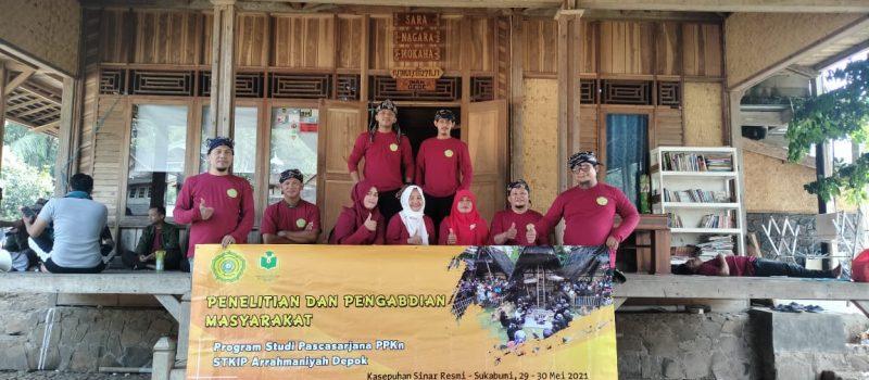 Penelitian dan Pengabdian Masyarakat Magister PPKn STKIP Arrahmaniyah 2021