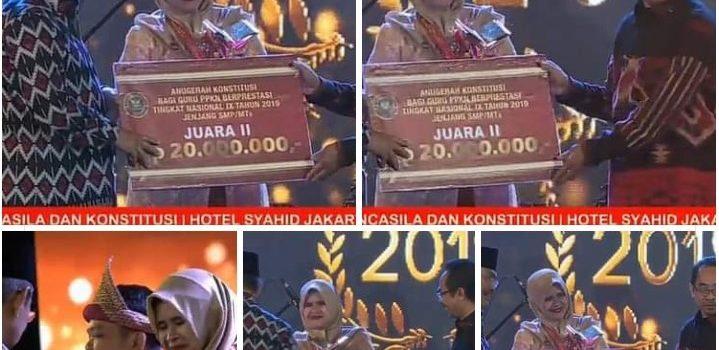 Alumni Pascasarjana PPKn STKIP Arrahmaniyah Raih Juara 2 Guru PPKn Terbaik Tingkat Nasional